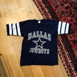 RARE VINTAGE Dallas Cowboys Tee Jersey size L